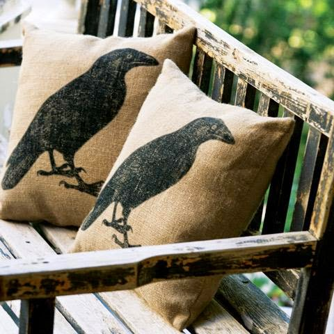 raven pillows