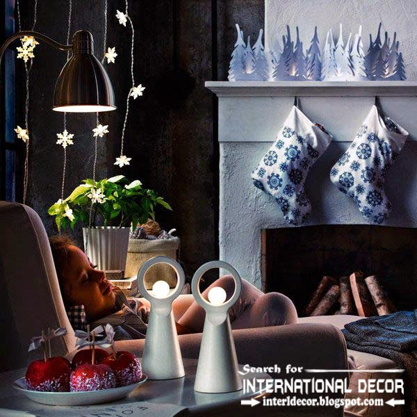 New Ikea Christmas decorations 2015, new year garlands decorating ideas from ikea 2015