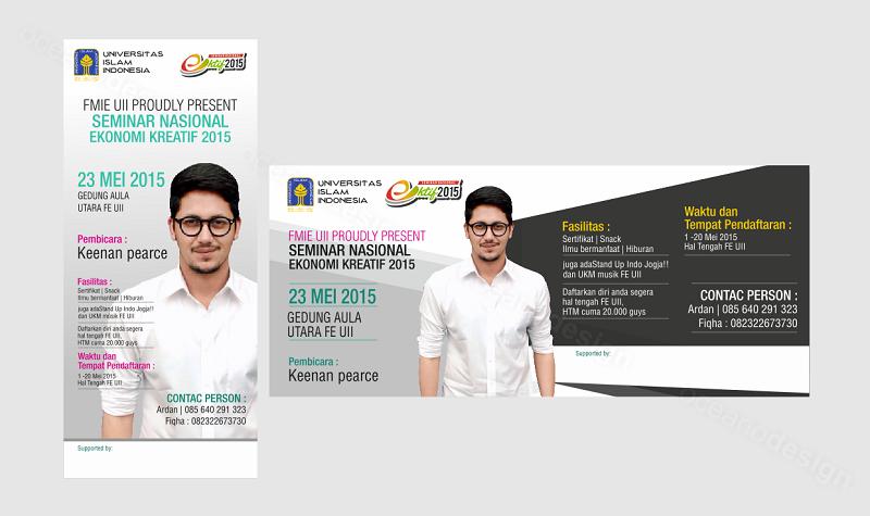 Desain banner seminar UII - Jasa Desain Grafis Jogja