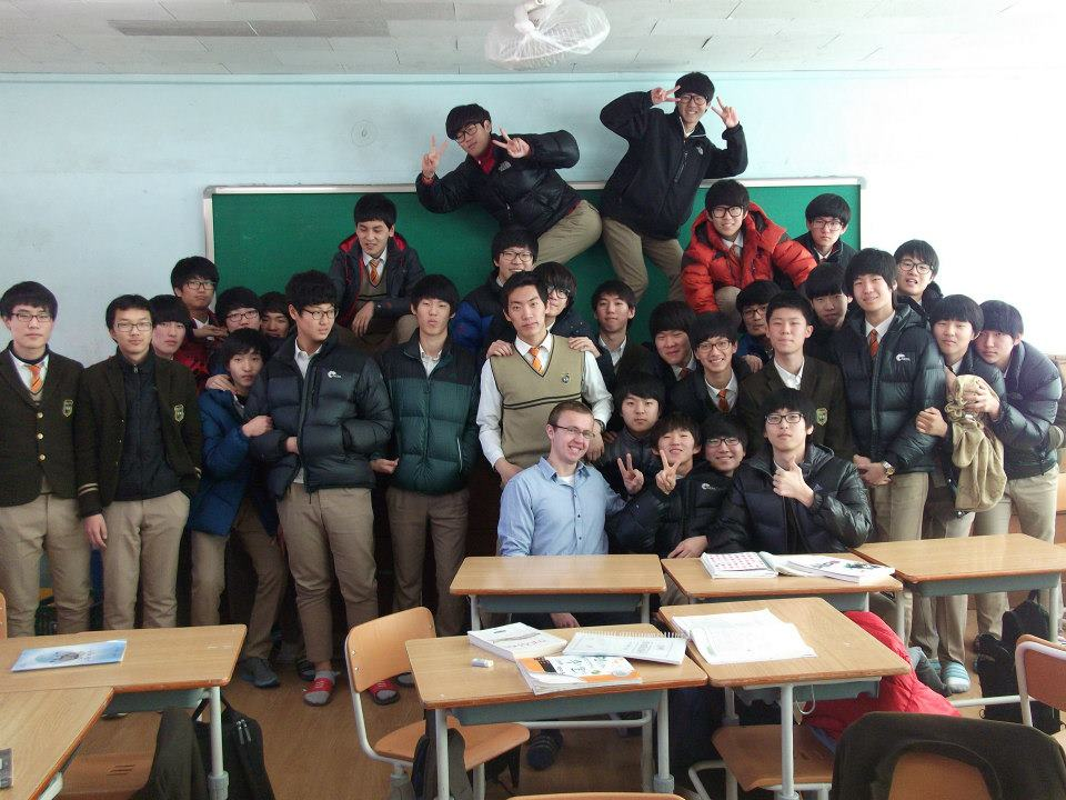 South Korea Inside Out/Australia Inside Out: My Students