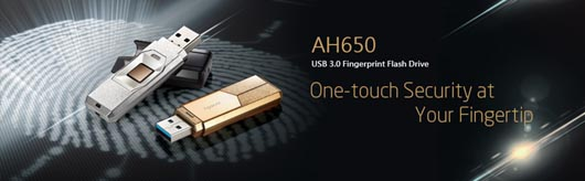 Apacer AH650 Fingerprint Flash Drive