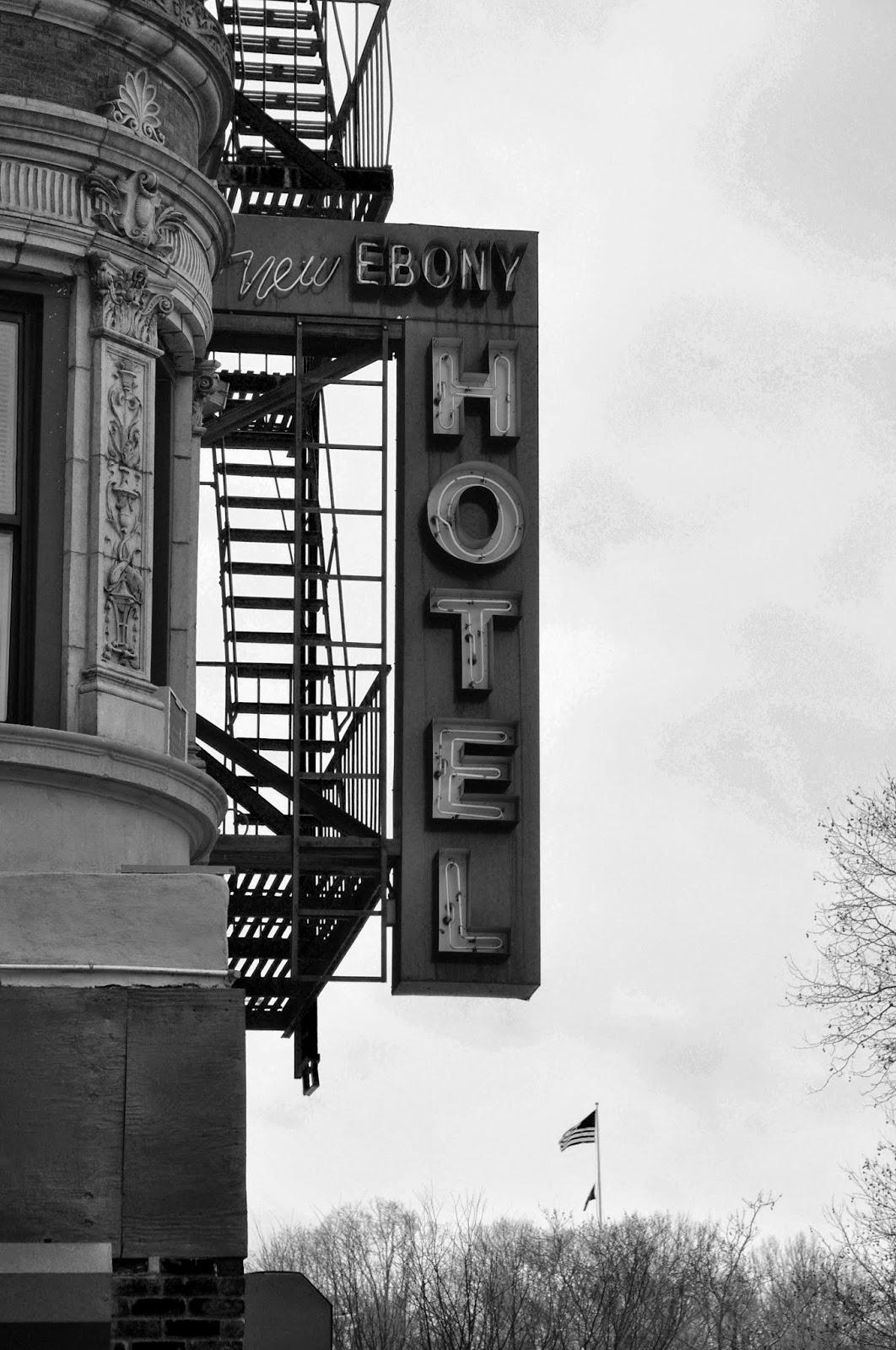 New ebony hotel