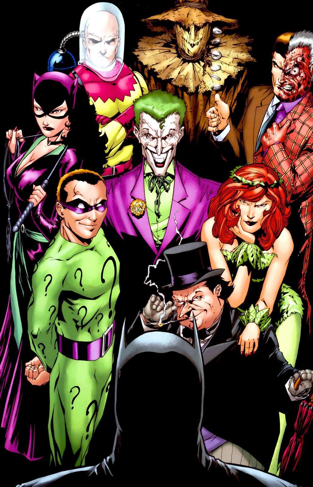 Villanos de Batman