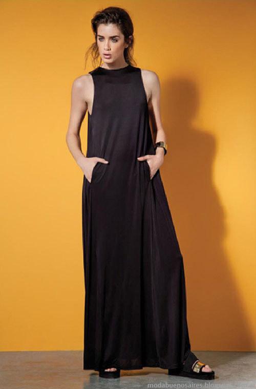 María Cher primavera verano 2015 vestidos largos de verano.