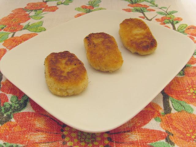 Placuszki z gotowanych ziemniaków