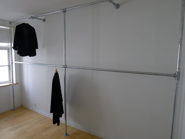 M y n a k e d s t y l e diy pipe wardrobe diy pipe wardrobe do it yourself solutioingenieria Image collections