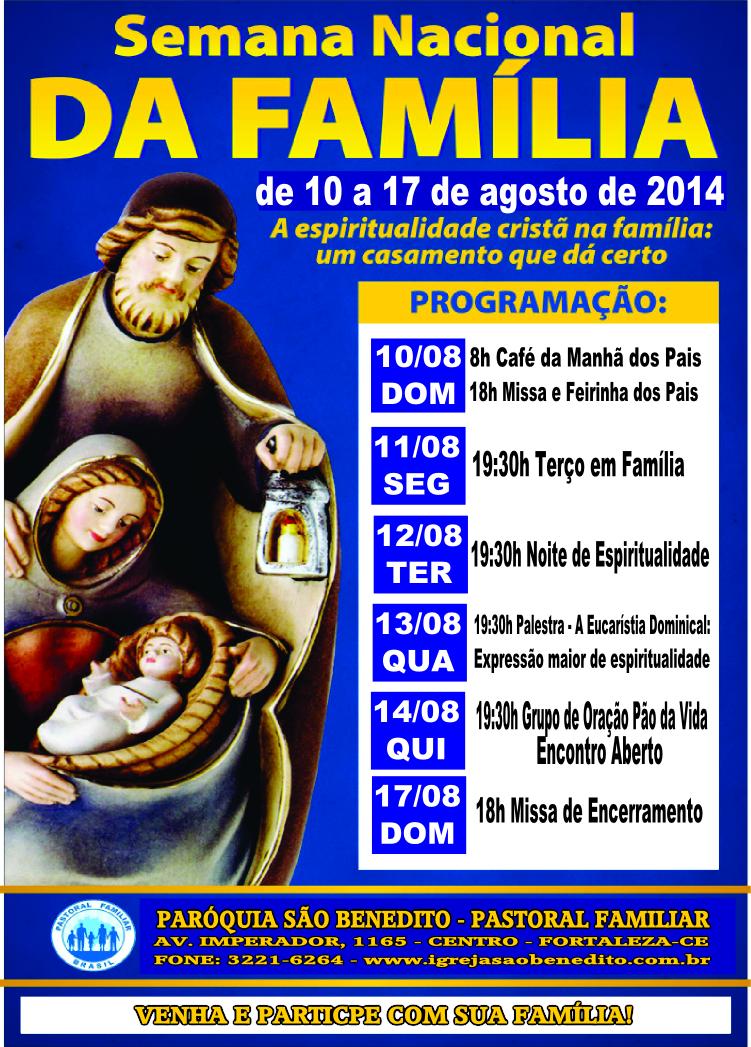 Semana Nacional da Família 2014