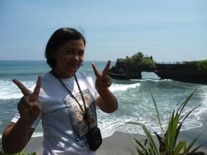 Tanah Lot, Pura dan Sunset Indah di Bali
