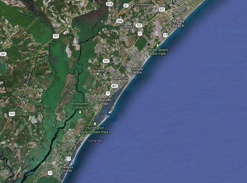 Tide Chart Murrells Inlet