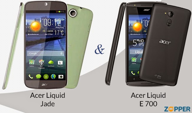 Introducing Acer Liquid Jade and Acer Liquid E700