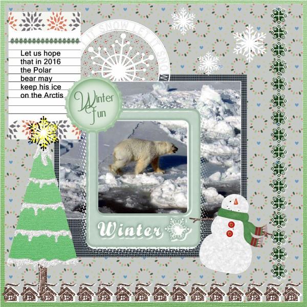 Jan.2016 - Polar bear