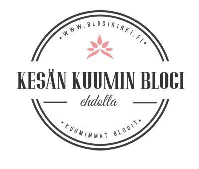 Kesä kuumin blogi äänestys!