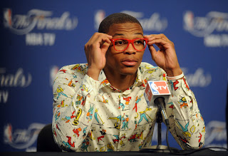 Russell Westbrook's fashion statement