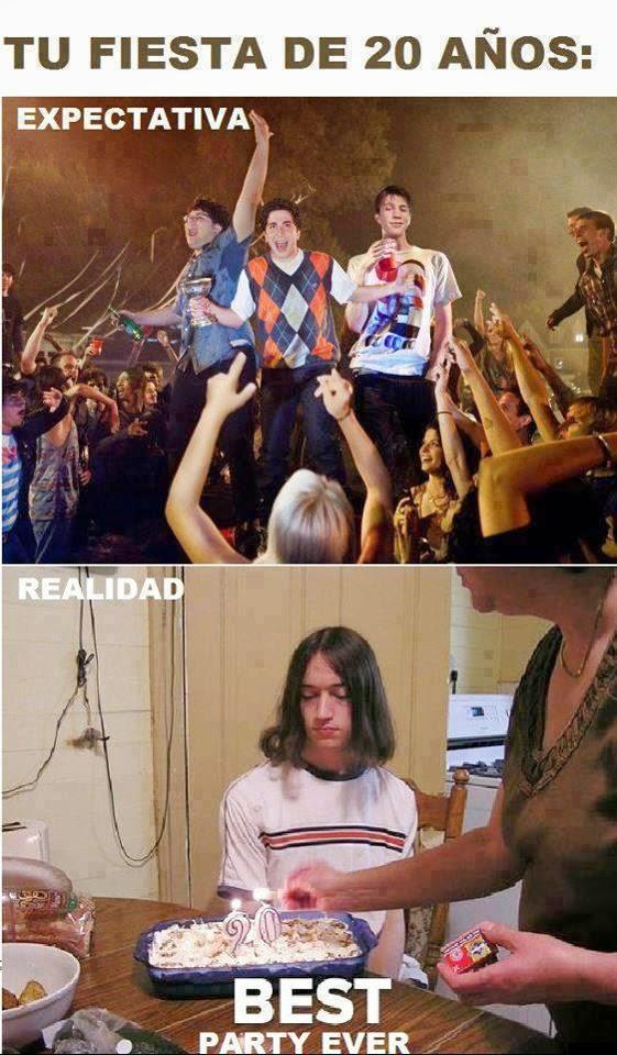 Expectativa vs realidad part 2 im - Fiesta anos 20 ...