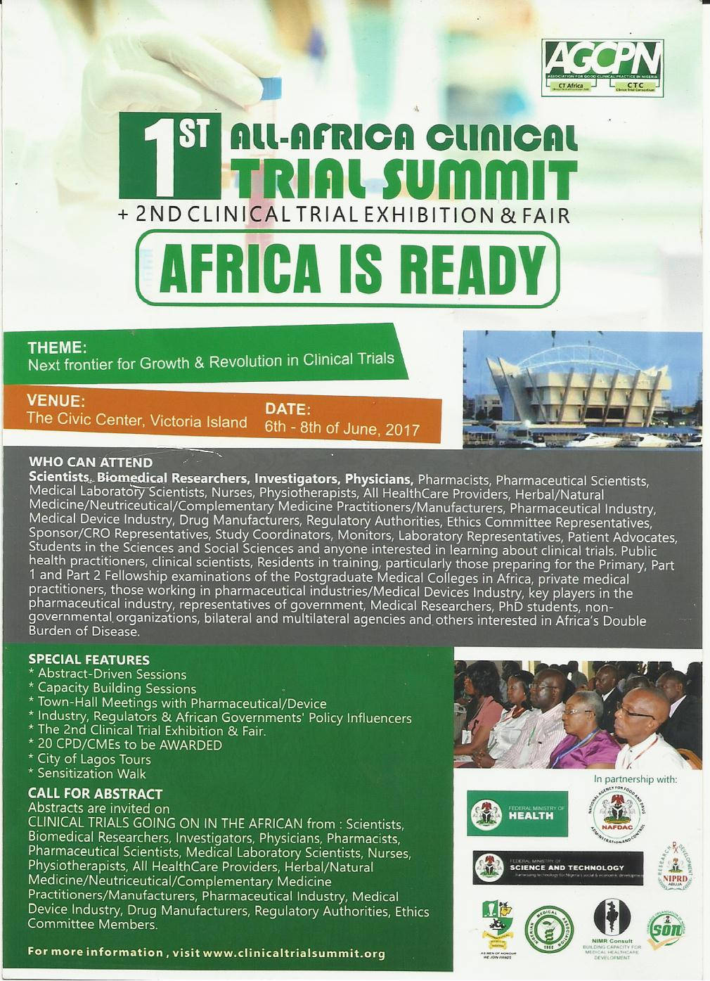 All-African Clinical Trial Summit