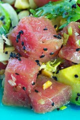 Aloha! Ahi Tuna Poke Salad - Part 1
