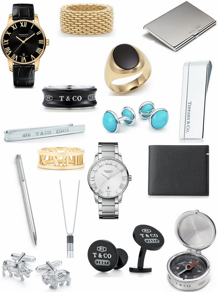 tiffany and co christmas wish list for him