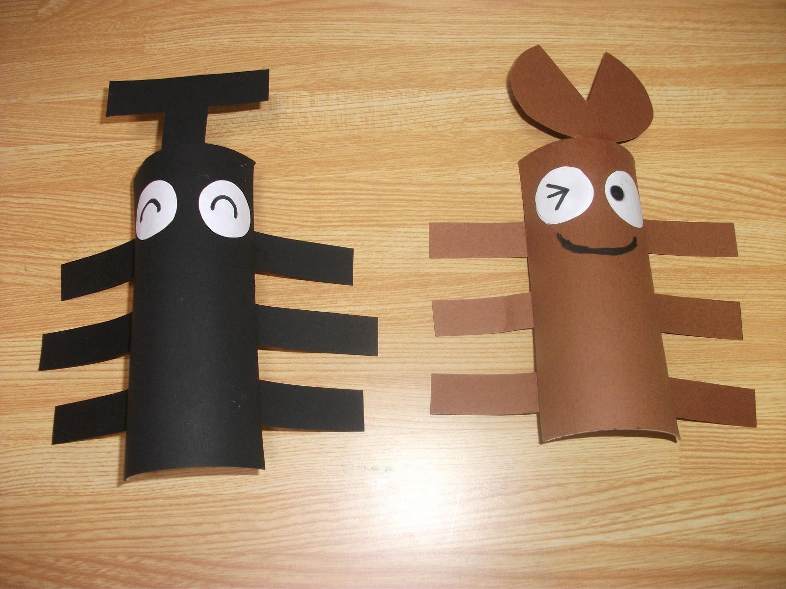 Easy Toilet Paper Japanese Beetle Craft Preschool Crafts For Kids