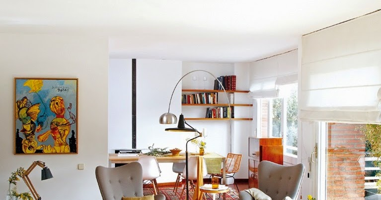 Accente vintage ntr un apartament din barcelona jurnal de for Al saffar interior decoration l l c