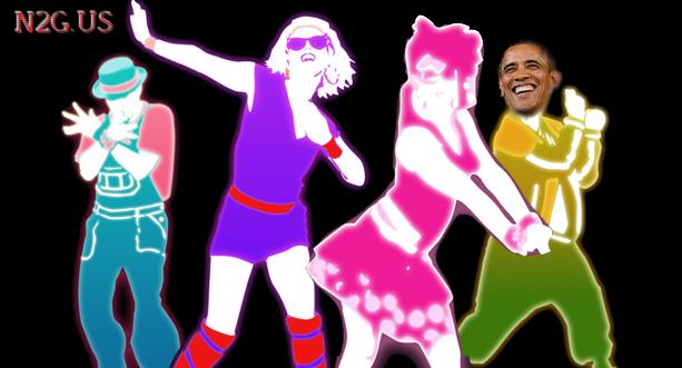 Barack Obama buy Just Dance