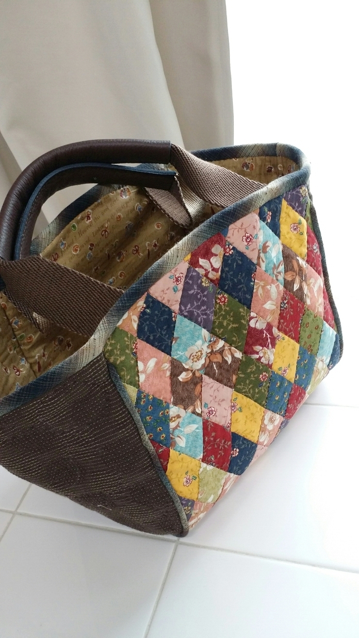 Patchwork & Quilted Bag Tutorial ~ DIY Tutorial Ideas!