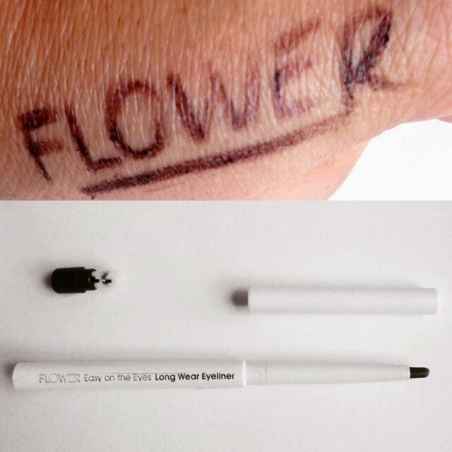 flower beauty, cosmetics, drew barrymore, eyeliner, aubergine, lucky fabb, cid style file