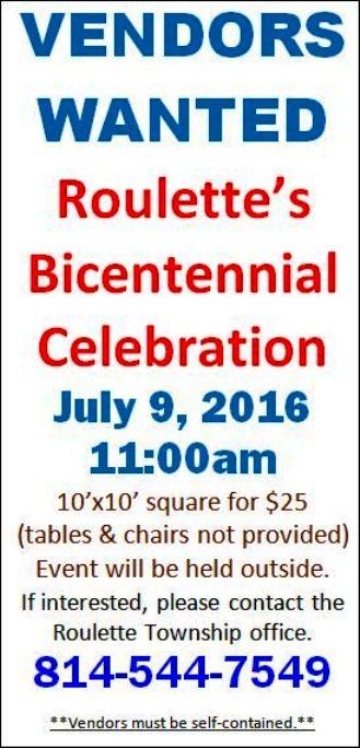 7-9 Roulette Bicentennial