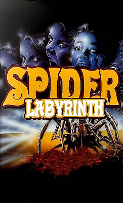 the spider labyrinth il nido del ragno poster cover 1988 movie