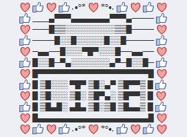 osos teddy para comentar facebook ascii