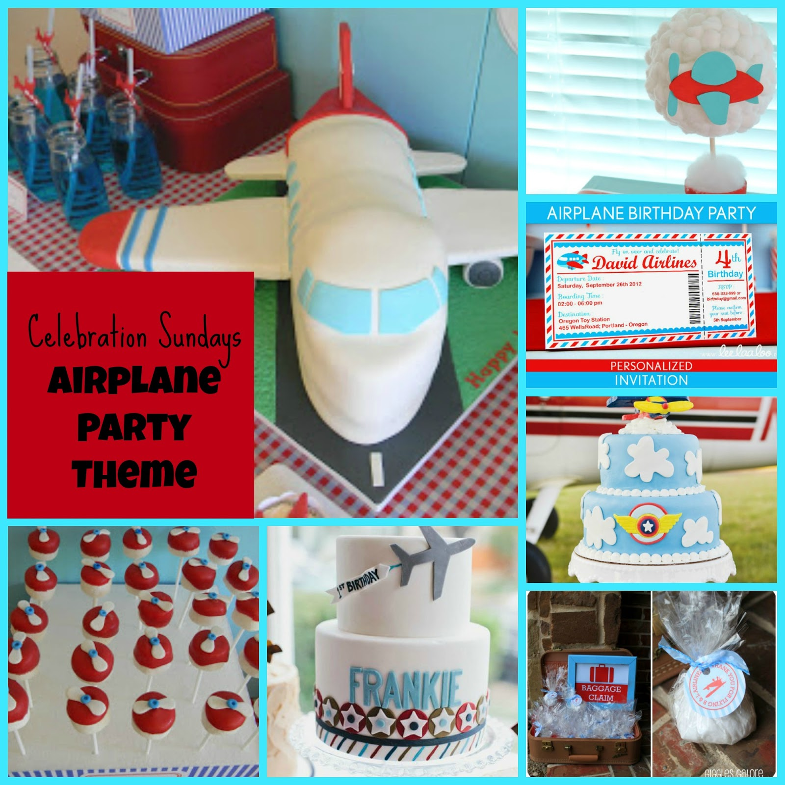 The Mandatory Mooch: Celebration Sundays - Airplane Party Theme
