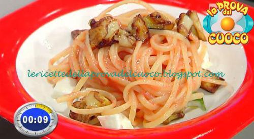 Linguine alla parmigiana di melanzane ricetta Parizzi da Prova del Cuoco
