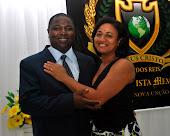 Pastor Hamiltom e Cristina (Esposa)