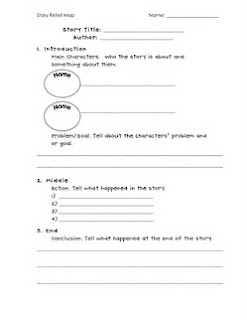 photo of retell comprehension worksheet free Teaching With Style