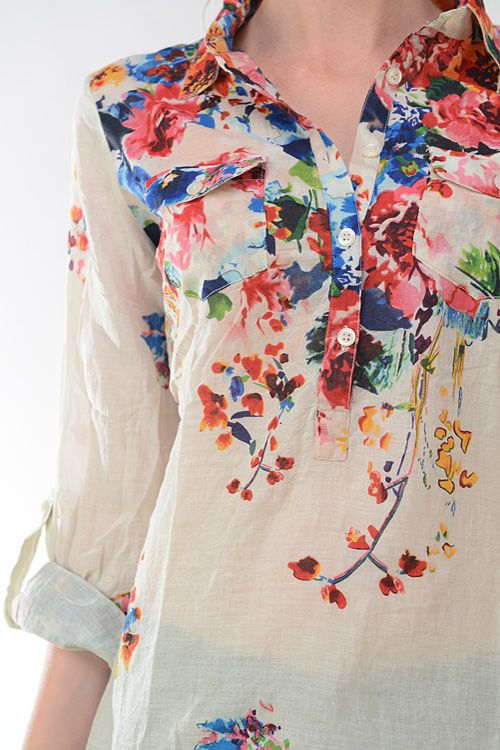 Top 5 Beautiful Printed Cotton Short Dress