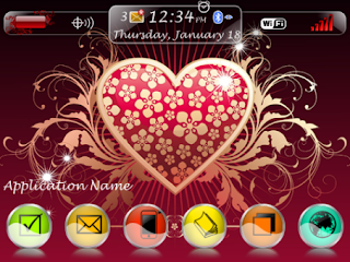 Flowvec Love Theme (9300/9330 OS6) Preview 1