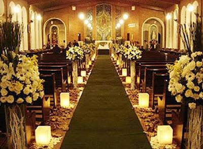 Decoração com Velas em Casamentos