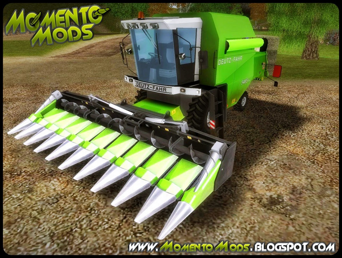 GTA SA - Colheitadeira Deutz Harvester