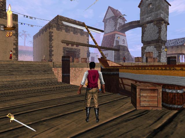 Elder Scrolls Redguard Stros M'Kai Port Hunding Docks