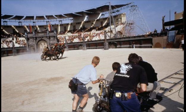 Gladiator detrás de las cámaras