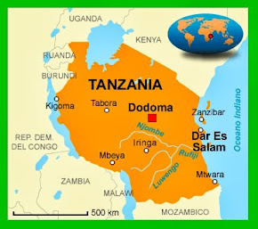 MAPPA TANZANIA