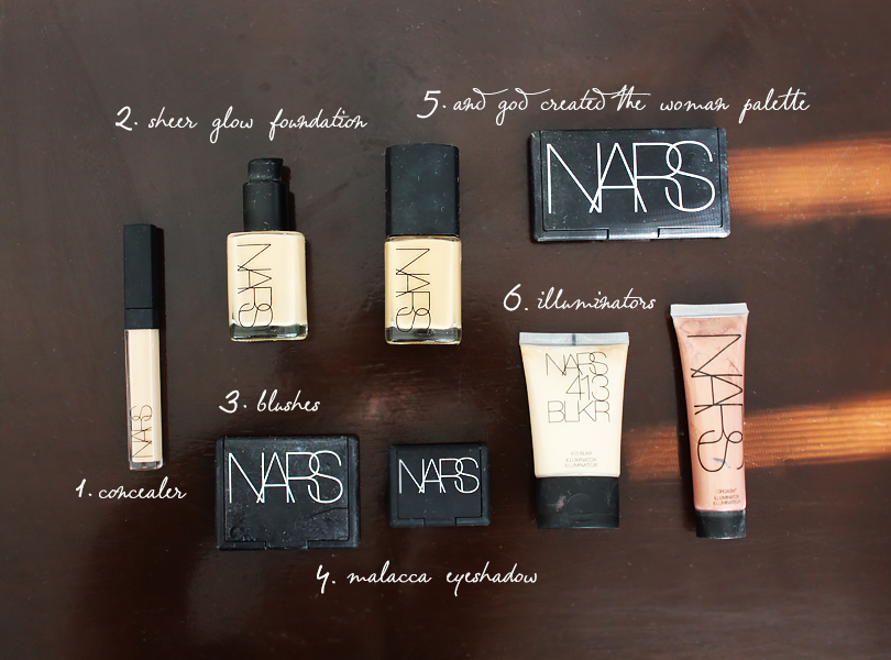 best of top nars cosmetics makeup products review lipstick velvet matte sheer glow foundation concealer illuminator orgasm blush