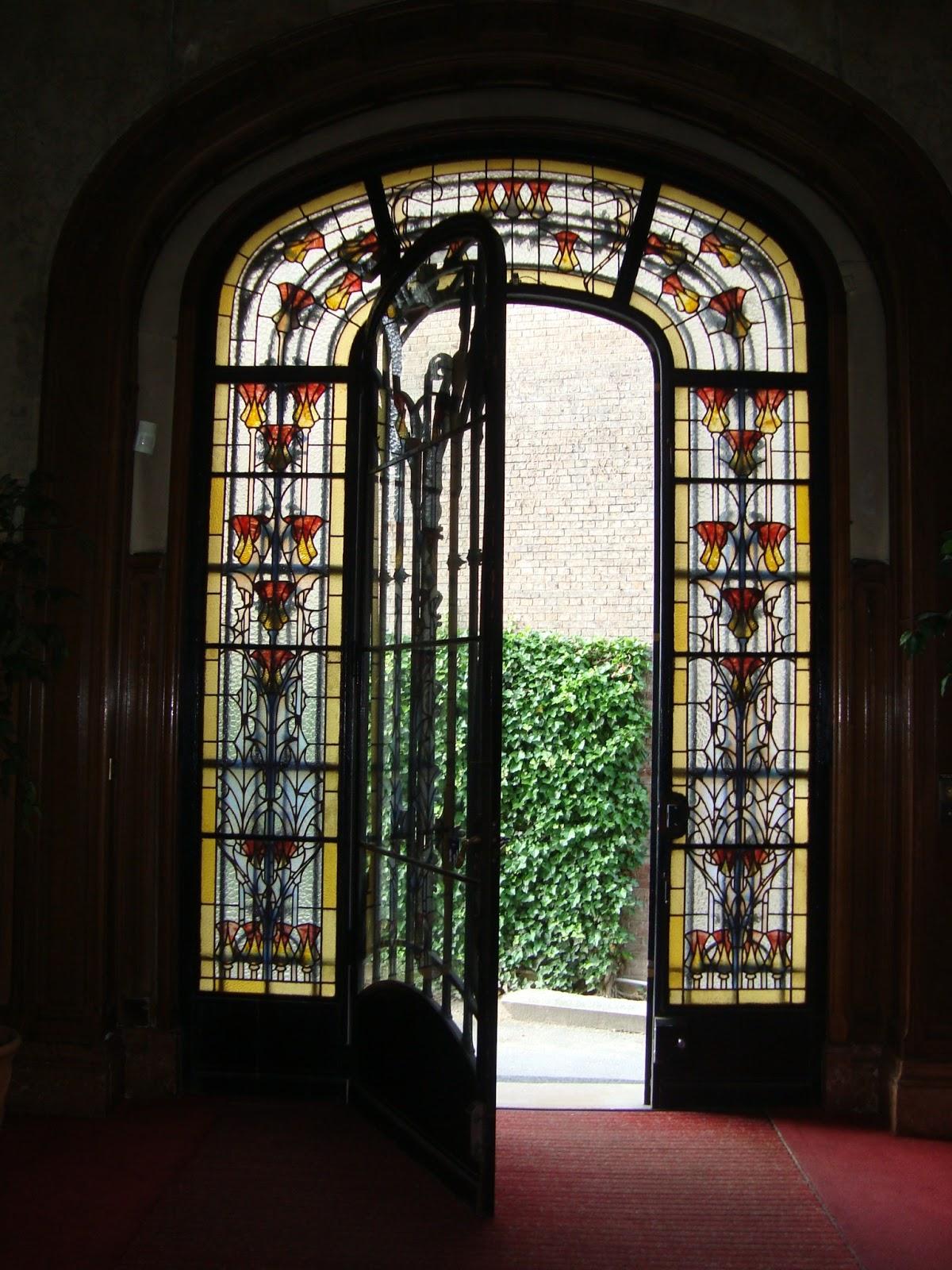 Paseos art nouveau int rieur rez de chauss e de h tel for Art nouveau interieur