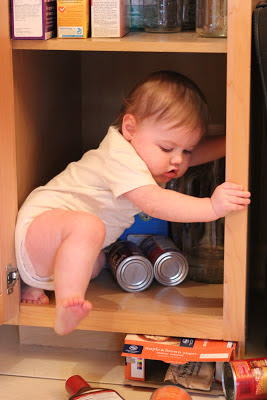 Playing In The Pantry