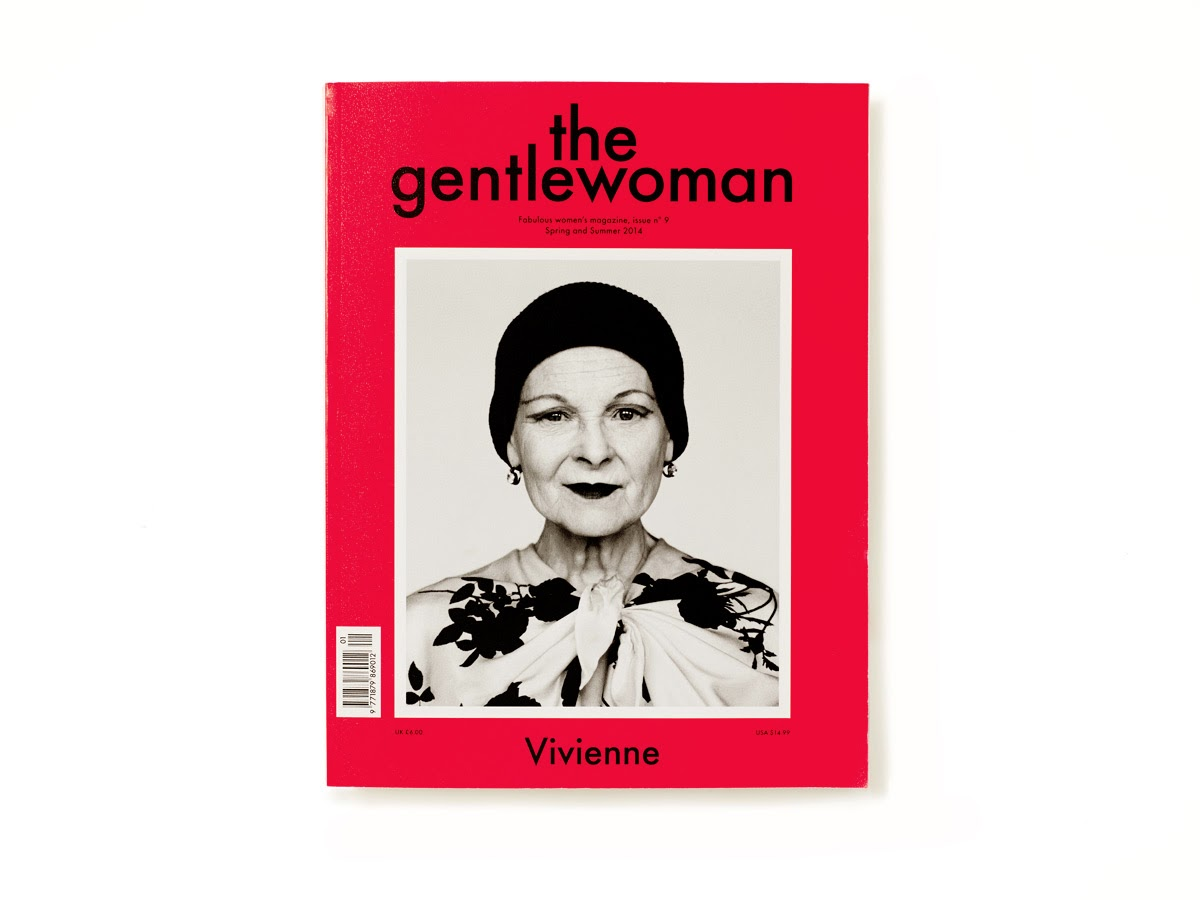 The Gentlewoman issue 9 spring and summer 2014 cover vivienne westwood
