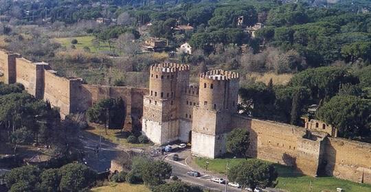 """Domenica 23 marzo h 11.00 Passeggiando lungo le """"Mura Aureliane"""""""