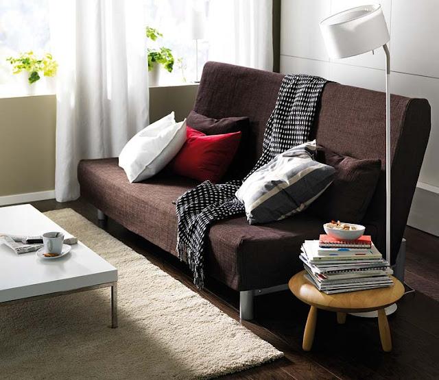 Sala De Tv Com Sofá Marrom ~ Sala de TV decorada com Sofá Único e Chaise