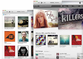 iTunes for Windows XP, Vista, Windows 7,or Windows 8
