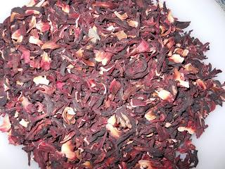 infusión o te de hibisco