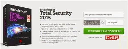 Miễn phí 1 năm bản quyền Bitdefender Total Security 2015