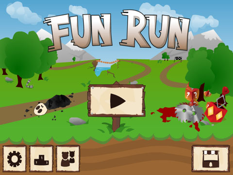 Fun Run - Multiplayer Race Free App Game By DirtyBit